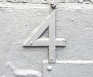 four, numbers, and photography image