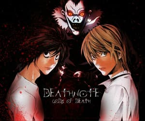anime, death note, and manga image