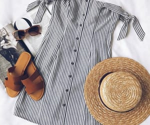 chic, spring, and style image