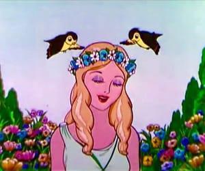 bird, flowers, and memories image