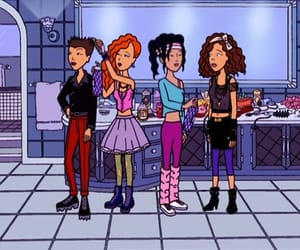Daria, 90s, and mtv image