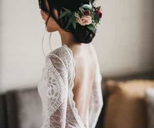 hair, marriage, and peinado image