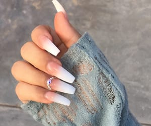 claws, nails, and ombre image