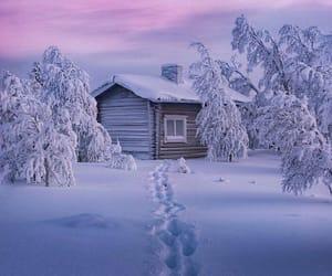 amazing, finland, and sunset image