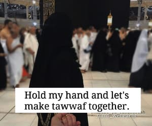 couple, hold, and islam image