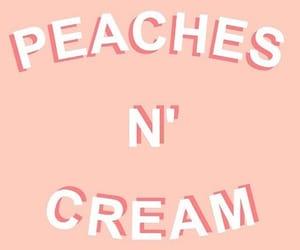 peach, aesthetic, and cream image