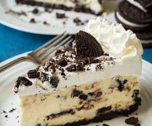 chocolate, dessert, and cheesecake image