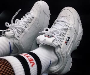 Fila, shoes, and aesthetic image