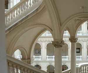 renaissance, stairs, and uni image