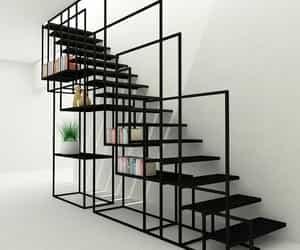 black, design, and geometric image