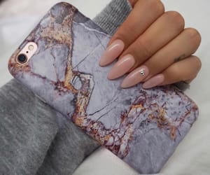 marble, nails, and purple image