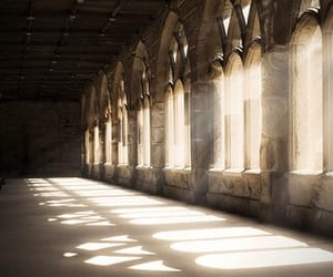 harry potter, light, and architecture image