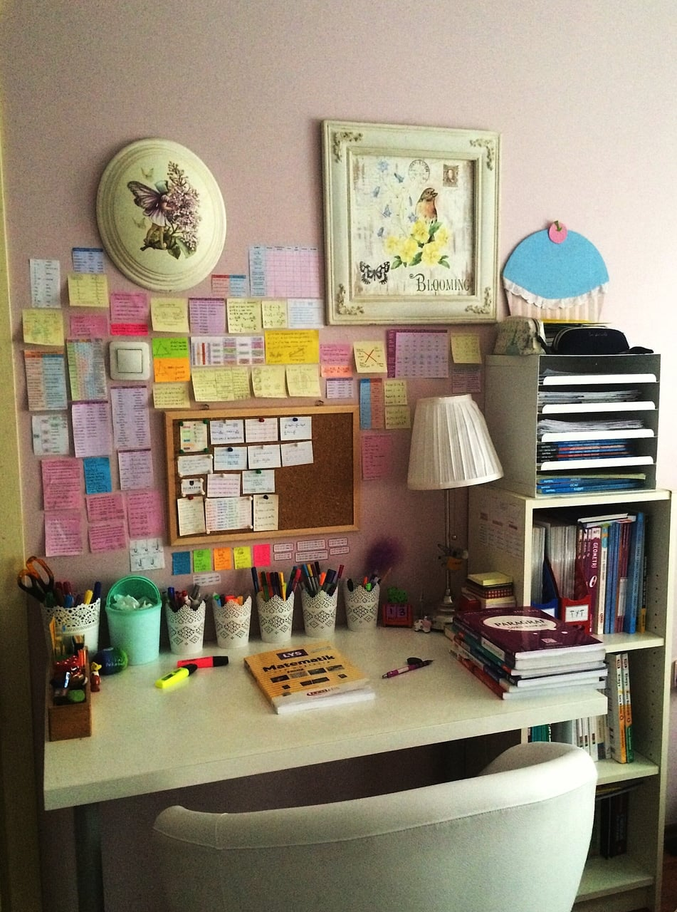 books, desk, and dreams image