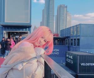 pink, ulzzang, and cute image