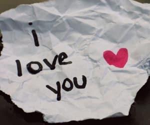 feelings, heart, and I Love You image