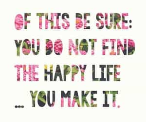 find, happy, and life image