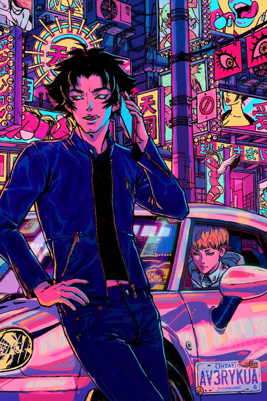 56 Images About Devilman On We Heart It See More About Devilman Crybaby Devilman And Ryo