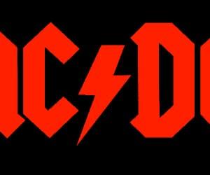 ac dc, metal, and rock image
