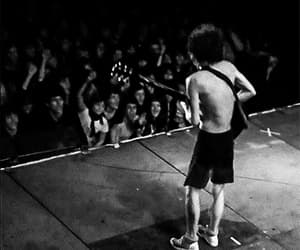 ACDC, angus young, and performer image