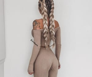 braid, cool, and tattoo image