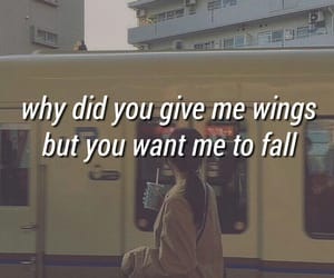 asian girl, broken heart, and love quotes image