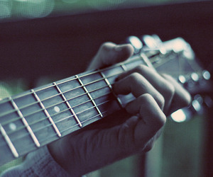 beauty, guitar, and passion image