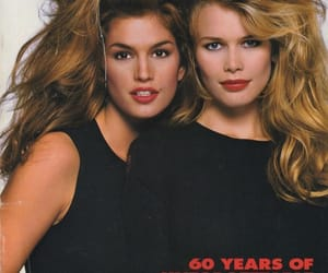 cindy crawford and Claudia Schiffer image