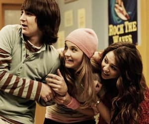 miley cyrus, hannah montana, and emily osment image