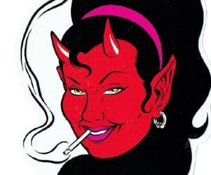 666, demon, and demonic image