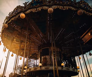 aesthetic, carrousel, and festival image