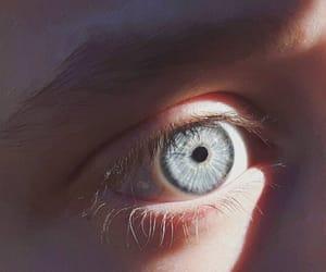 eyes, blue, and ice image