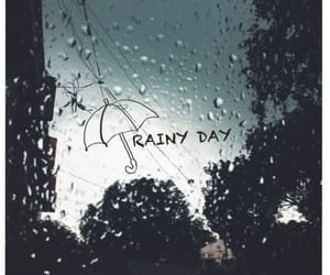 rain and rainy day image