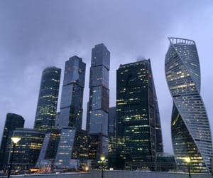 winter and moscow city image