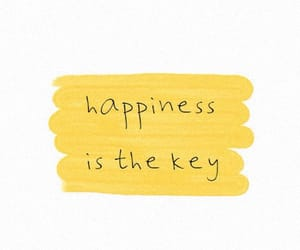 yellow, quotes, and happiness image