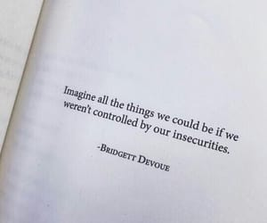 quotes, book, and insecurities image