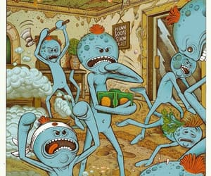 look at me, rick and morty, and meeseeks image