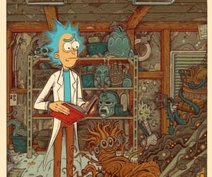 rick and rickandmorty image