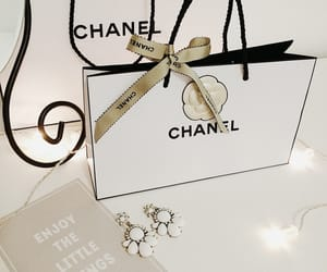 camellia, chanel, and decoration image