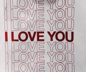 love, red, and I Love You image