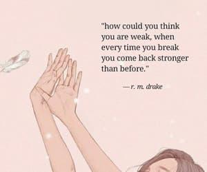 break, heart, and poem image