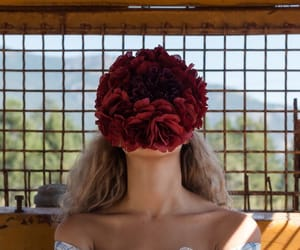 art, fashion, and flower image