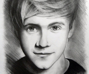 paint, niall horan, and photography image