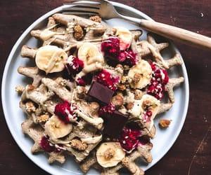 banana, delicious, and nuts image