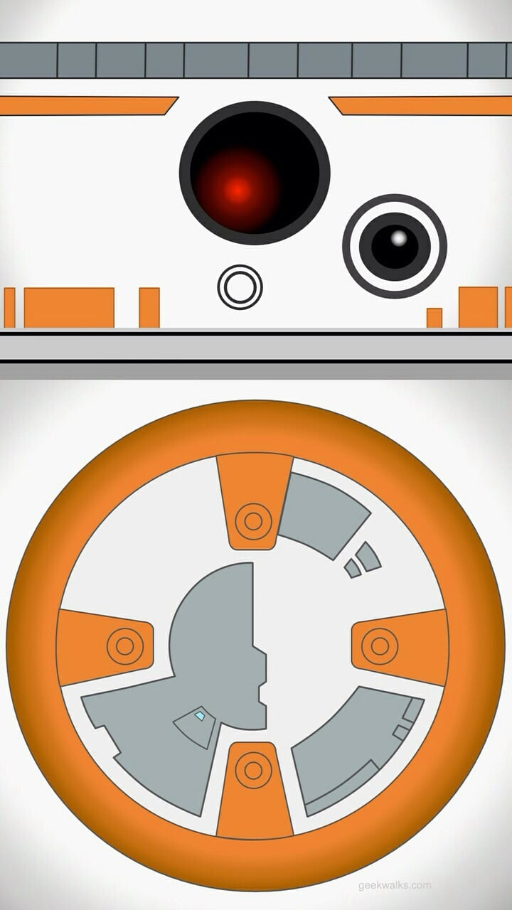 Bb8 Star Wars Discovered By ℒᗩᘎᖇᗩ On We Heart It