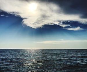 beauty, day, and horizon image
