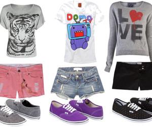 clothes, domo kun, and fashion image