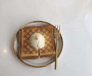 food, toast, and yum image