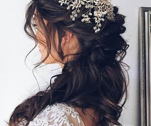 hair, girl, and princess image
