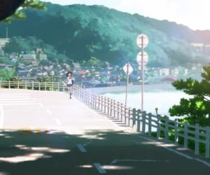 anime, japan, and Moutains image
