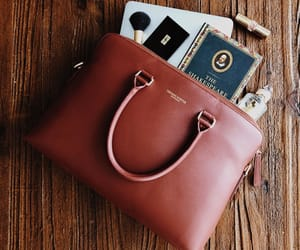 bag, books, and classy image